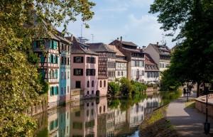 La Petite France est le quartier emblématique du Strasbourg historique