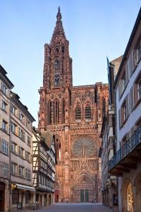 La Cathédrale de Strasbourg en grès rose des vosges