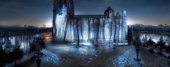 Illumination de la Cathédrale de Strasbourg2017