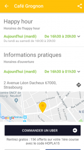 Schloukmap screen application strasbourg HIEX3