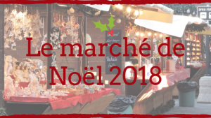 Bannière le marché de noel 2018